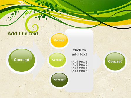 Green Sprouts PowerPoint Template Slide 17