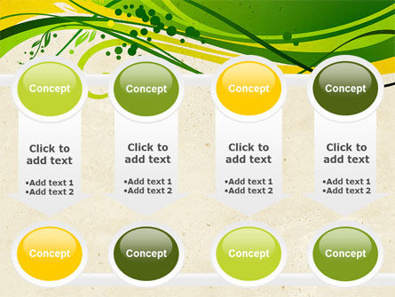 Green Sprouts PowerPoint Template Slide 18