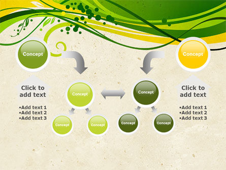 Green Sprouts PowerPoint Template Slide 19