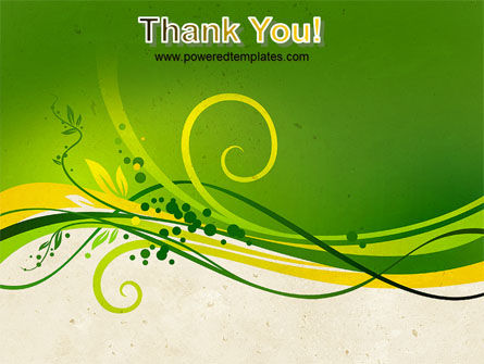 Green Sprouts PowerPoint Template Slide 20