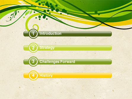 Green Sprouts PowerPoint Template Slide 3