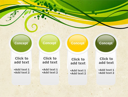 Green Sprouts PowerPoint Template Slide 5