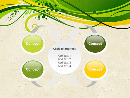 Green Sprouts PowerPoint Template Slide 6