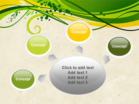 Green Sprouts PowerPoint Template Slide 7