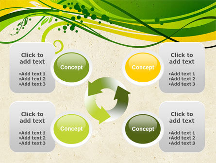 Green Sprouts PowerPoint Template Slide 9