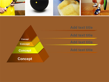 Squash PowerPoint Template, Slide 4, 04726, Sports — PoweredTemplate.com