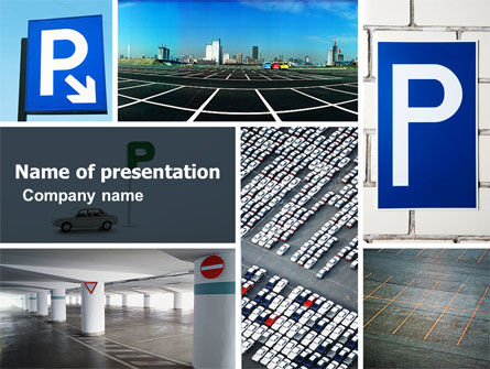 Parking Lot PowerPoint Template