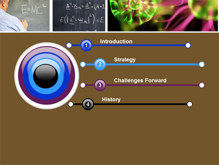 Lesson In Physics PowerPoint Template, Slide 3, 04732, Education & Training — PoweredTemplate.com