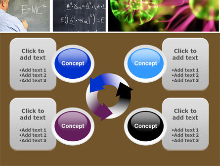 Lesson In Physics PowerPoint Template Slide 9