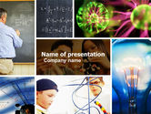 Education & Training: Lesson In Physics PowerPoint Template #04732