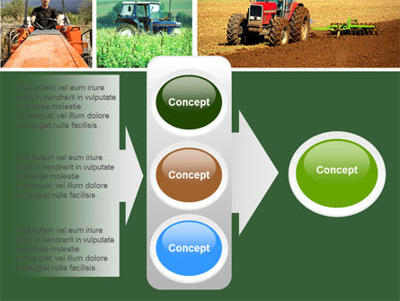 Tractor Collage PowerPoint Template Slide 11