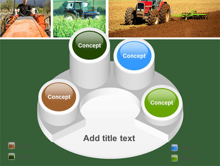 Tractor Collage PowerPoint Template Slide 12