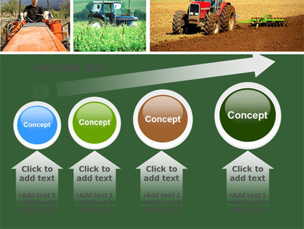 Tractor Collage PowerPoint Template Slide 13