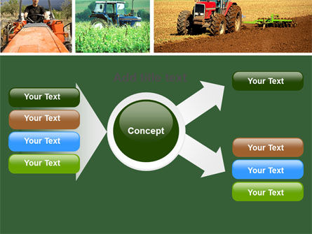 Tractor Collage PowerPoint Template Slide 14