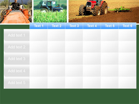 Tractor Collage PowerPoint Template Slide 15