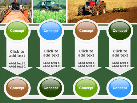 Tractor Collage PowerPoint Template Slide 18