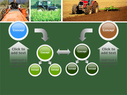 Tractor Collage PowerPoint Template Slide 19