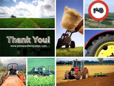 Tractor Collage PowerPoint Template Slide 20