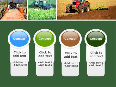 Tractor Collage PowerPoint Template Slide 5