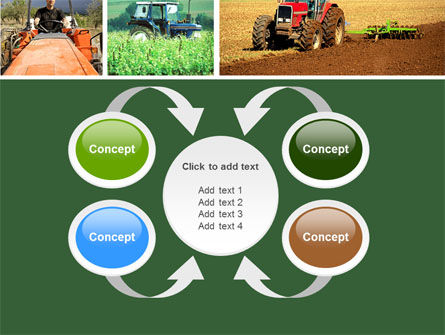 Tractor Collage PowerPoint Template Slide 6