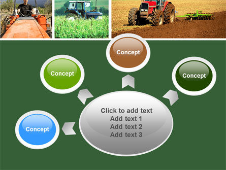 Tractor Collage PowerPoint Template Slide 7