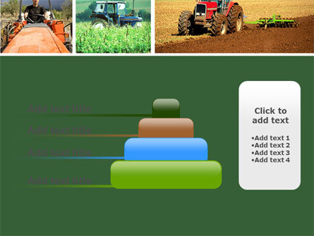Tractor Collage PowerPoint Template Slide 8