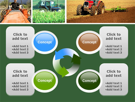 Tractor Collage PowerPoint Template Slide 9