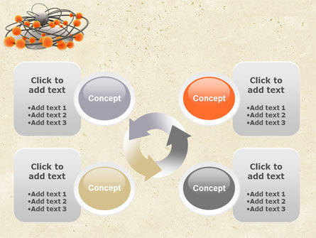 3D Model PowerPoint Template Slide 9