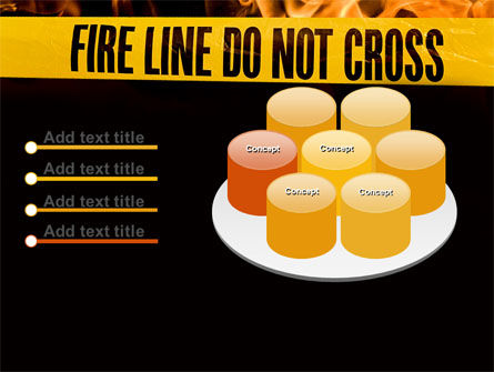Fire Line PowerPoint Template Slide 12