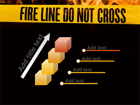 Fire Line PowerPoint Template Slide 14