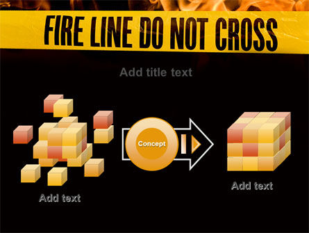 Fire Line PowerPoint Template Slide 17