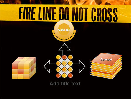 Fire Line PowerPoint Template Slide 19
