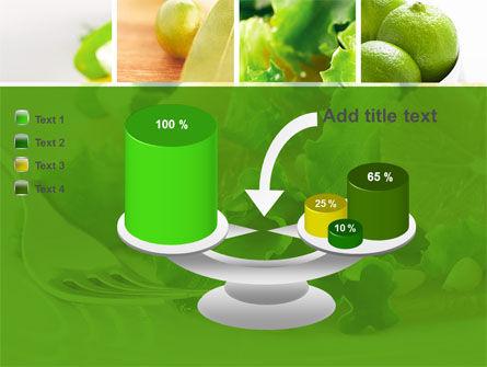 Green Salad PowerPoint Template Slide 10