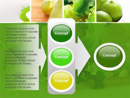 Green Salad PowerPoint Template Slide 11