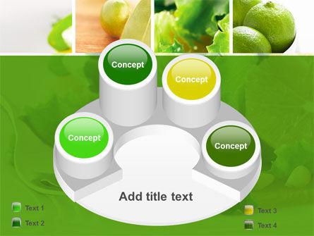 Green Salad PowerPoint Template Slide 12