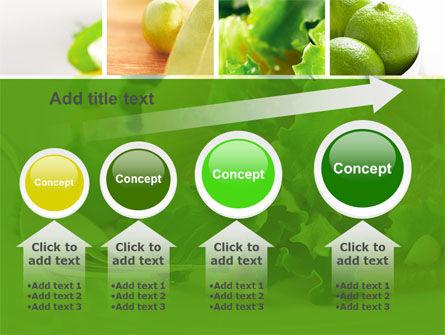 Green Salad PowerPoint Template Slide 13