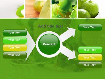 Green Salad PowerPoint Template Slide 14