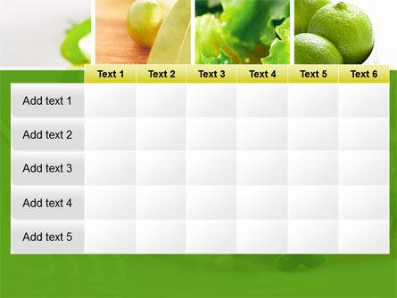 Green Salad PowerPoint Template Slide 15