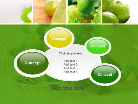 Green Salad PowerPoint Template Slide 16