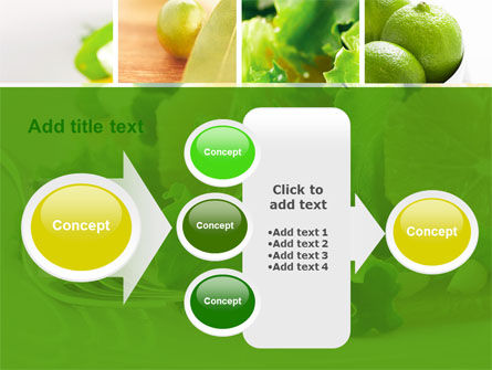 Green Salad PowerPoint Template Slide 17