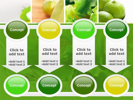 Green Salad PowerPoint Template Slide 18