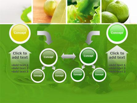Green Salad PowerPoint Template Slide 19