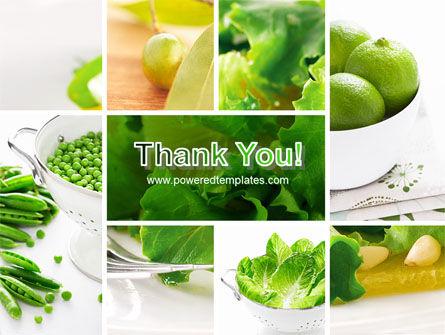 Green Salad PowerPoint Template Slide 20