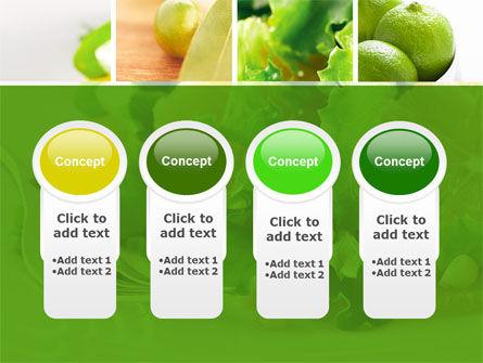 Green Salad PowerPoint Template Slide 5