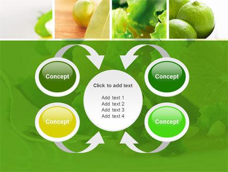 Green Salad PowerPoint Template Slide 6