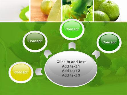 Green Salad PowerPoint Template Slide 7