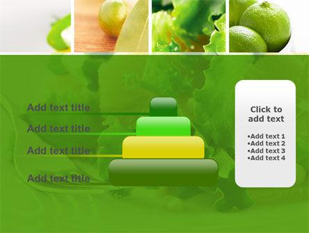 Green Salad PowerPoint Template Slide 8
