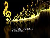 Art & Entertainment: Modern Music PowerPoint Template #04739