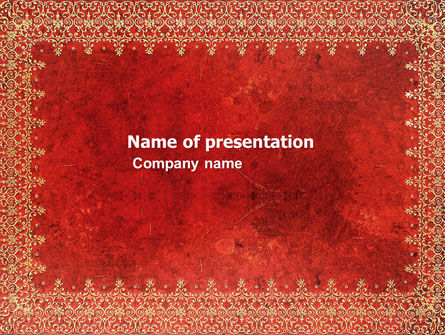 Persian Carpet PowerPoint Template