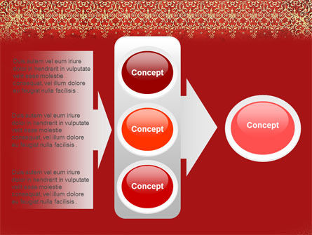Persian Carpet PowerPoint Template Slide 11